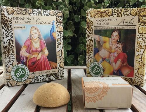 Přírodní barvení a péče o vlasy s Indian Natural Hair Care