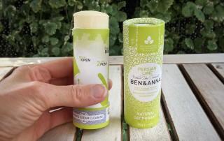 Tuhý deodorant Ben & Anna