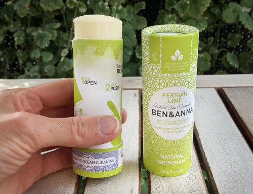 Ben & Anna Perská Limetka – tuhý deodorant, co nelepí, úžasně voní a funguje