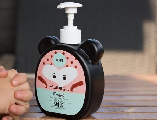 YOPE tekuté mýdlo pro děti, co na první pohled baví